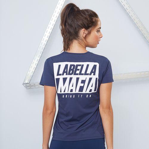 T-shirt Essentials Azul Marinho