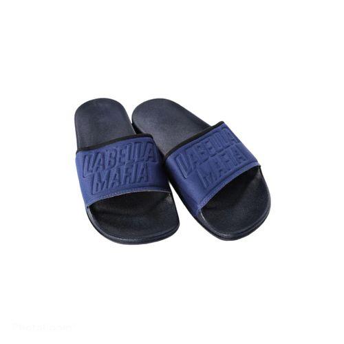 Slide Preto e Azul