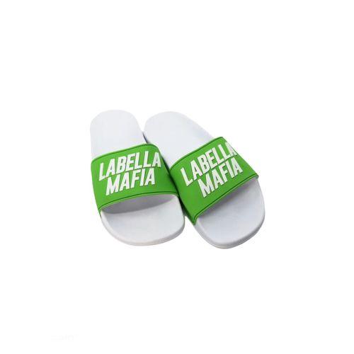 Slide Branco e Verde