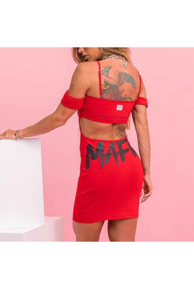 Vestido Hot Dress Vermelho