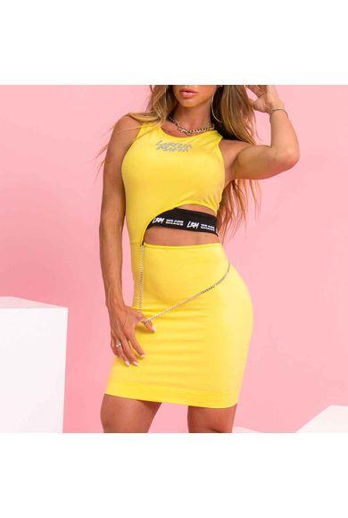 Vestido Hot Dress Amarelo