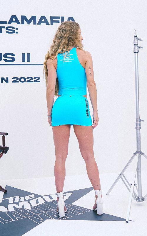 Conjunto The Famous 2 Azul