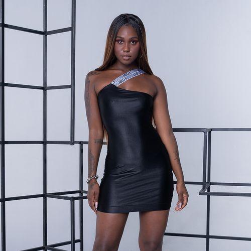 Vestido Elastic Preto