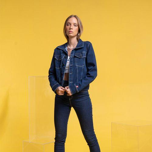 Jaqueta Clássica Jeans