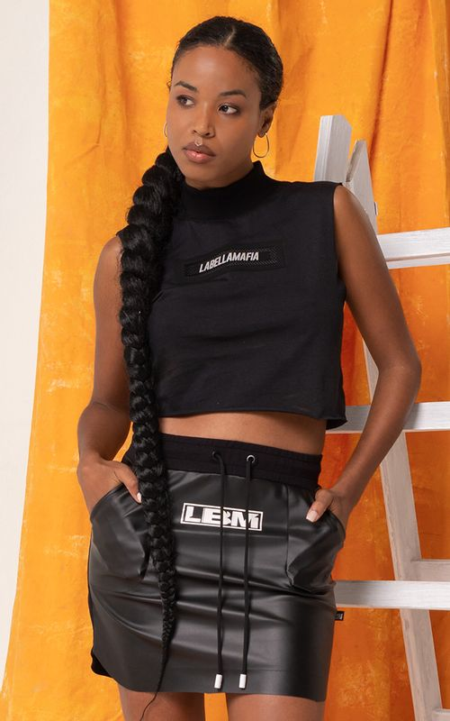 Cropped Hollywood Preto