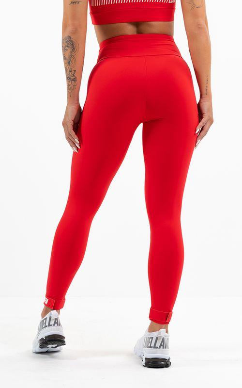 Legging Essentials Vermelha