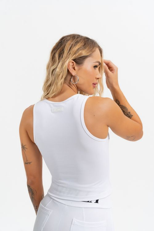 Cropped Groove Branco