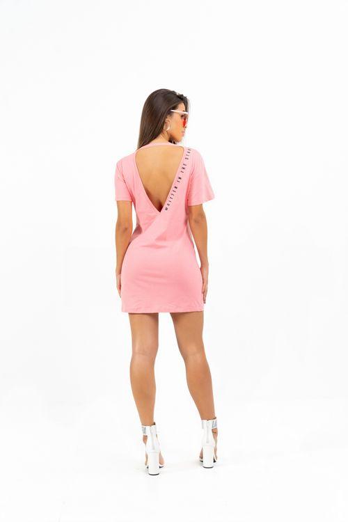 Vestido Groove Rosa