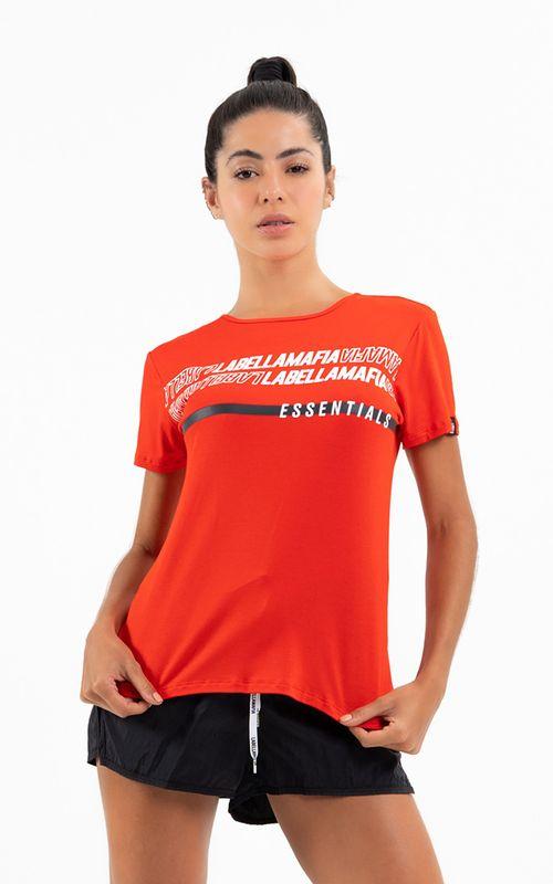 Camiseta Essentials Vermelha