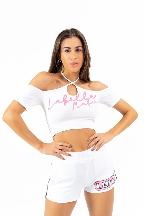 Cropped Mad Branco