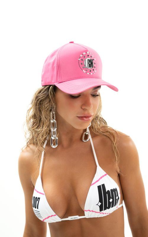 Boné Beachwear Rosa